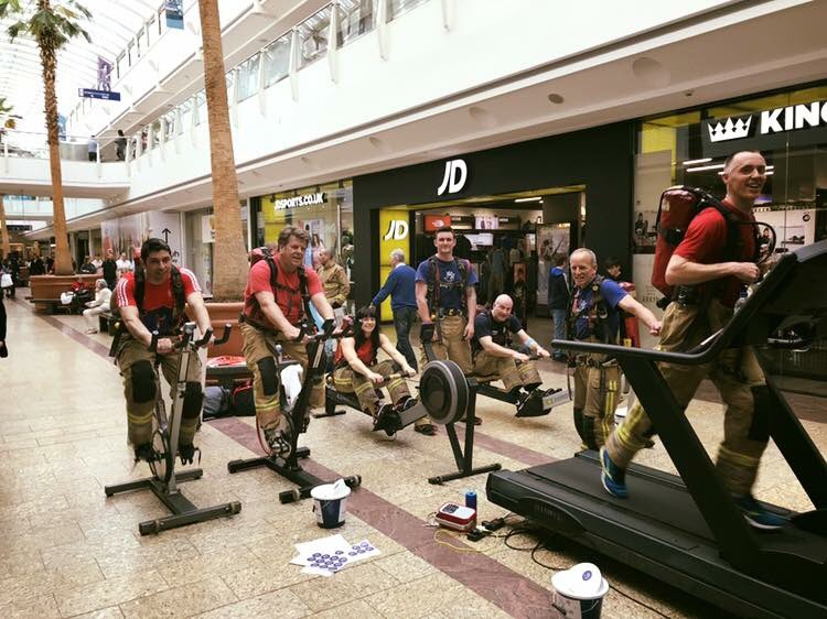 Staff from Avon Fire & Rescue Service take on 60 hour challenge for Daisy