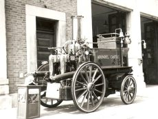 old fire appliance
