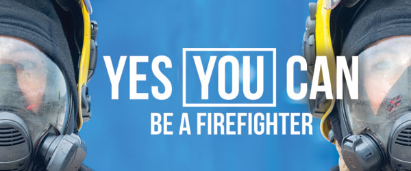 Become a firefighter - click for more information