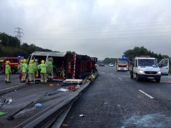 RTC on motorway
