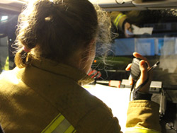 Fire tackled in fifth floor Bristol flat