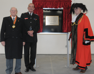 opening of temple fire station