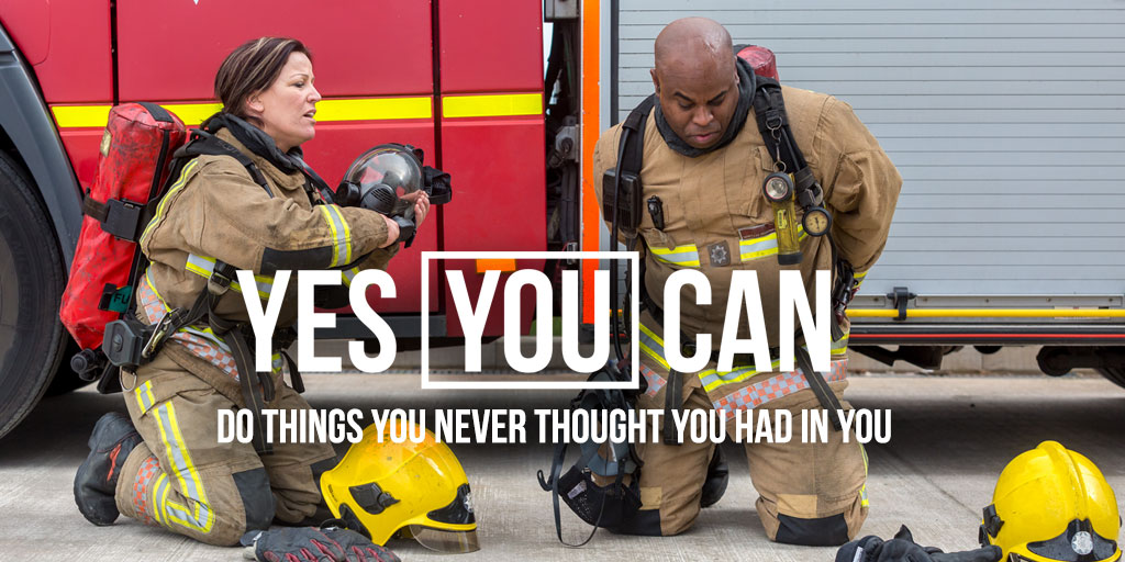 'Yes you can' be a firefighter - Avon Fire & Rescue Services launches recruitment campaign
