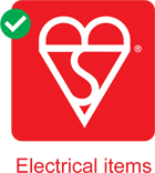 Image of the Kitemark used for electrical safety