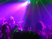 Students in nightclub